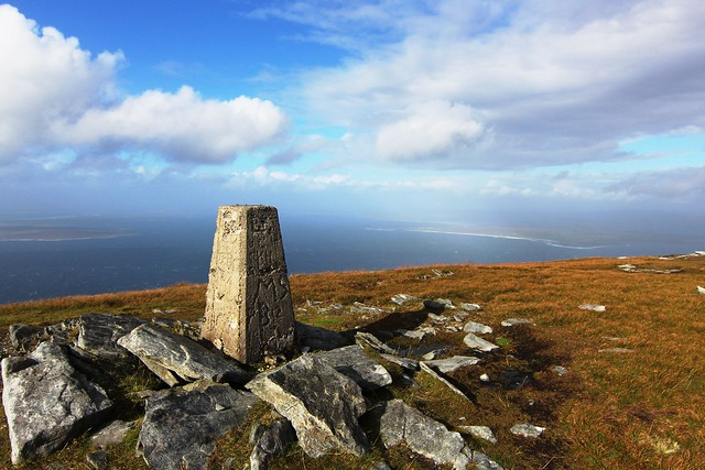 Slievemore mountain summit (672m) - Achill Island