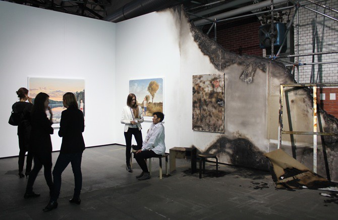 Muntean / Rosenblum at Galerie Zink