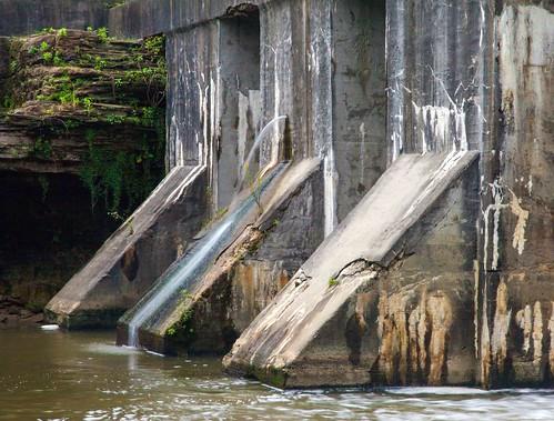 ohio water canon falls waterfalls newtonfalls