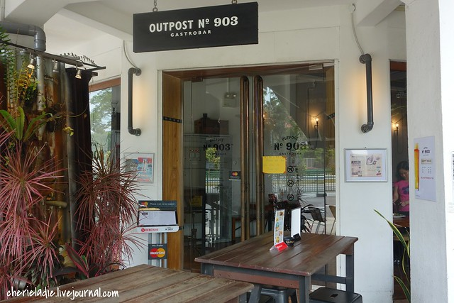 Entrance of outpost 903 Gastrobar