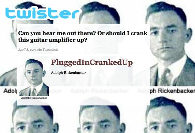 Twitter Twister Spoor Rickenbacker