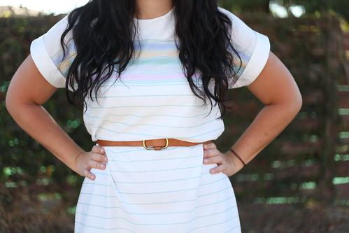 pastel stripes.