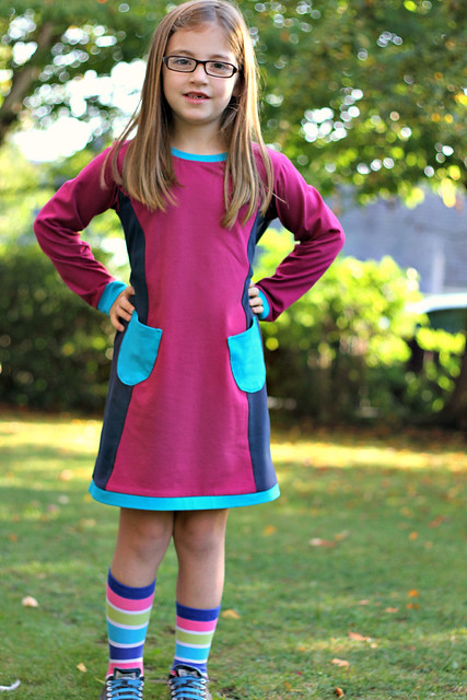 colourblock panel pinafore full 2 b