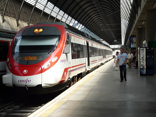 Spanish Cercanias train
