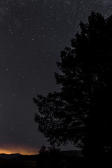 Stars in the dark of the Pentlands at Harlaw....