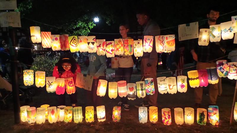 Jamaica Pond Lantern Parade 2013