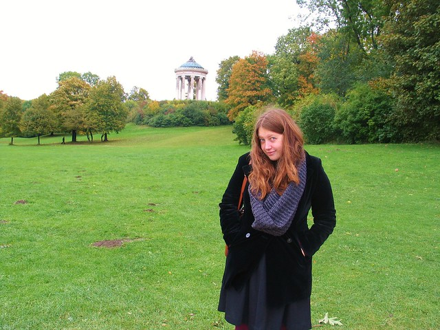 In the English Garden, Munich, 16/10/13