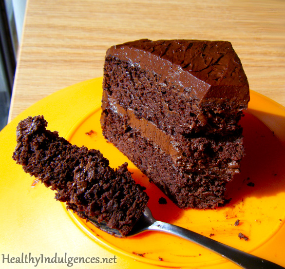 Chocolate Black Bean Cake (Low Carb, Gluten-Free!)