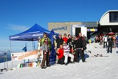 Testování lyží Elan a Völkl 2013/14 na Kitzsteinhornu
