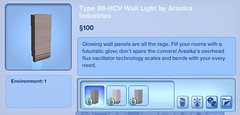 Type 88-HCV Wall Light by Arasika Industries