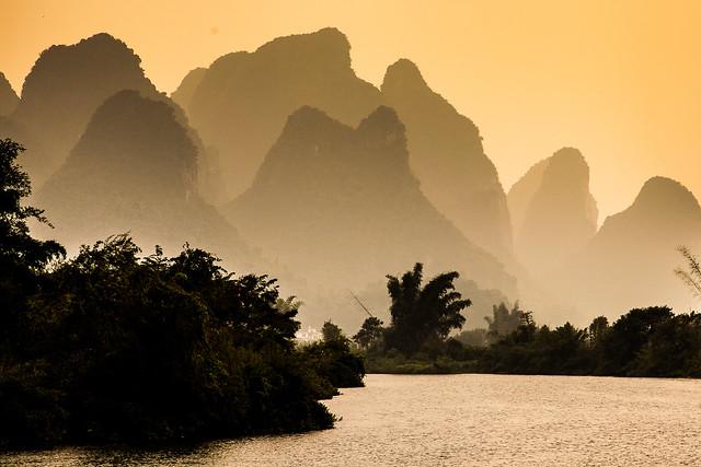 Yangshou sunsets
