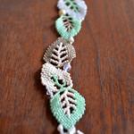 Leaf Bracelet by Jenny Schu