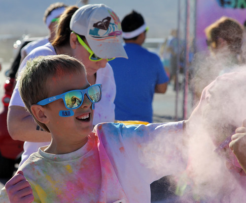 Dustin' His Bud - Color Me Rad 5K - Las Vegas, NV
