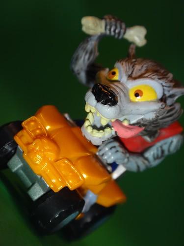 Werewolf Blitzer closeup