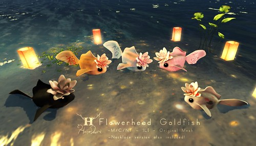 +Half-Deer+ Flowerhead Goldfish for Water Lantern Festival by Half-Deer (Halogen Magic)