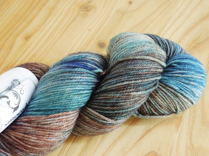 Dream in Color Smooshy with Cashmere (Slippery Trail colorway)