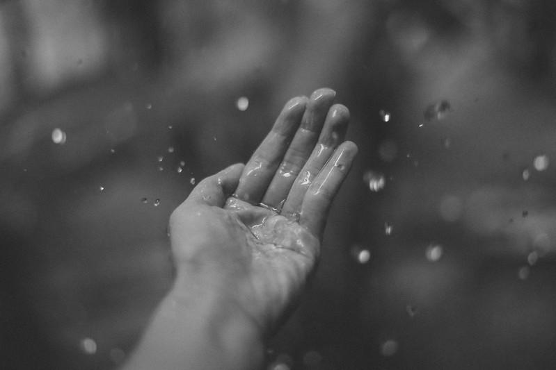 Freezing Raindrops