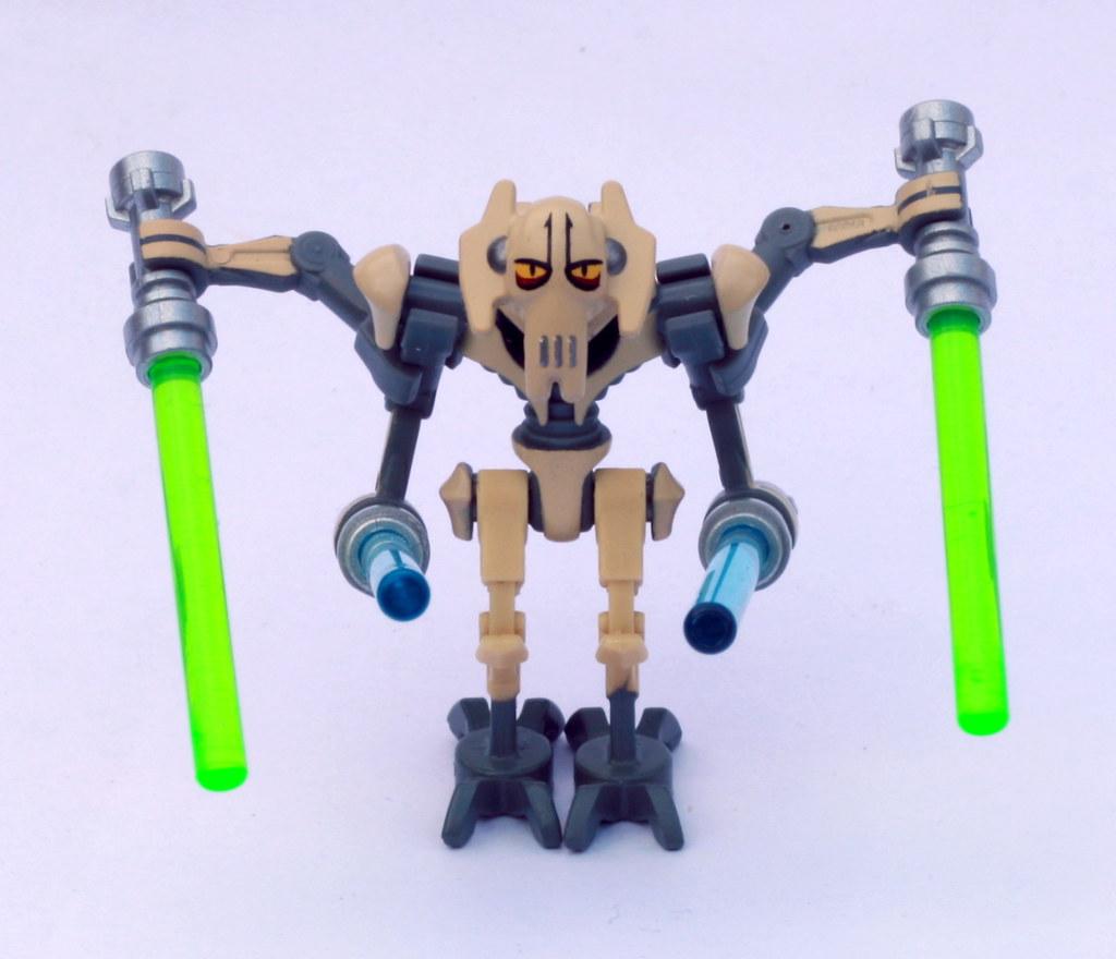 General Grievous Clone Wars Lego Star Wars Minifigure  Musings