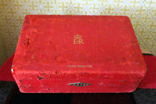Margaret Thatcher's last dispatch box