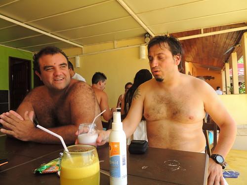 Con Felipe en Abraozinho