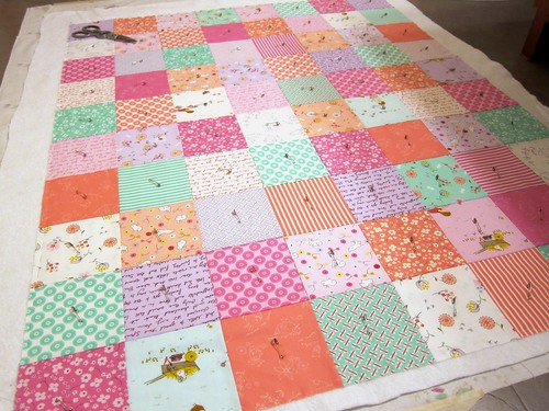 Posy Baby Quilt Take 2