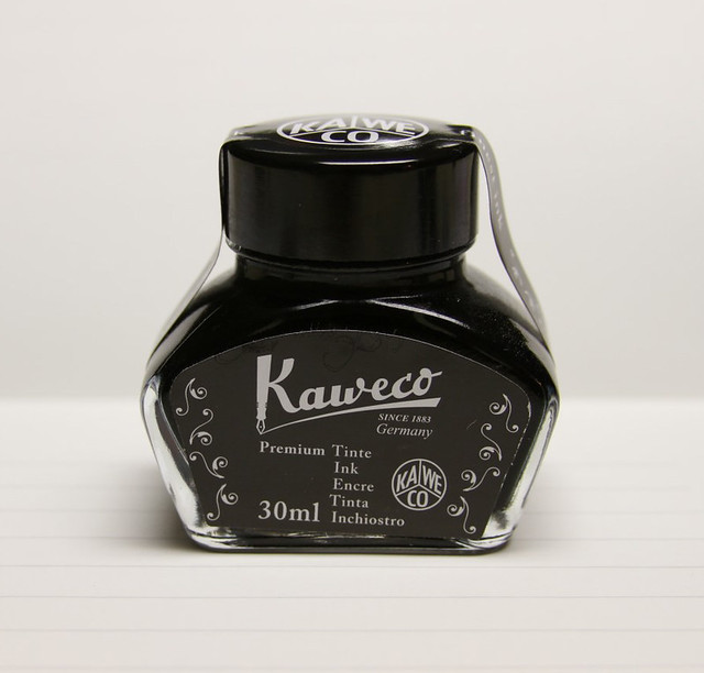 @Kaweco Black/Pearl Black Ink @JetPens