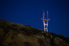 Stars over Sutro by mike dillon