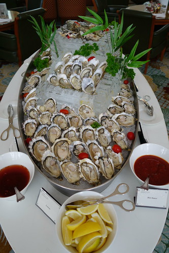Oysters at the Champagne Brunch at InterContinental Singapore