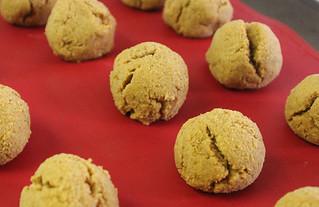 Paleo Vegan Pumpkin Cake Balls - Cooked
