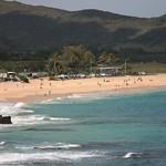 A beach in Oahu