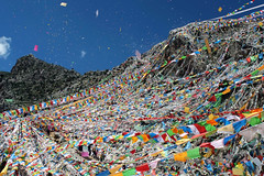 Prayer Flags at Princess Wencheng Temple, Yushu