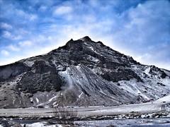 Mountain near Skógafoss