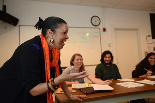 Professor Phyllis Jackson's Art in Africa class
