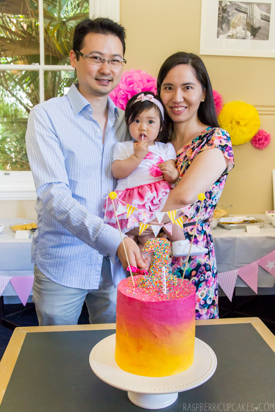 Sarah's 1st Birthday