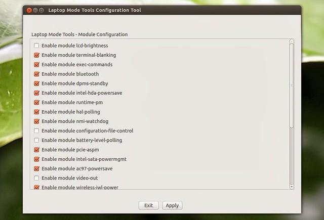 Настройка энергосбережения в Ubuntu с помощью Laptop Mode Tools