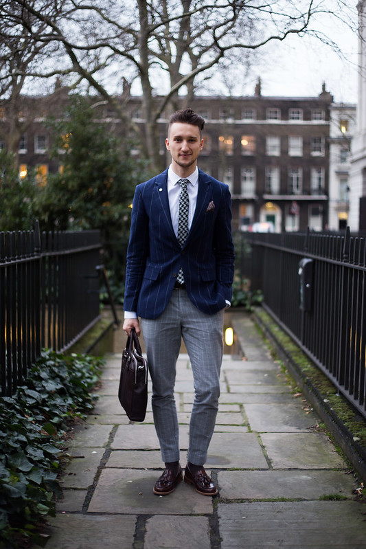 Street Style - Marcel Floruss, London Collections: Men