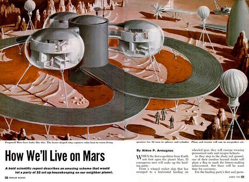 1952 ... living on Mars!
