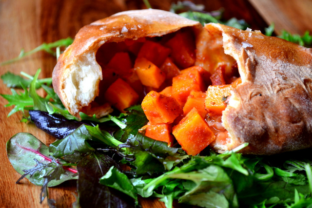Sweet Potato and Mozzarella Calzone Recipe (3)