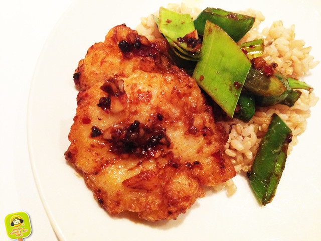 land of plenty - double cooked fish fillet with chili and leeks 2