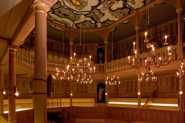 The Sam Wanamaker Playhouse © Pete Le May, 2014