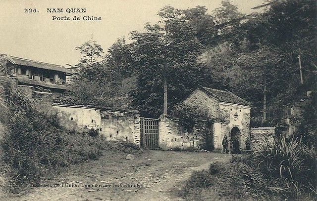 NAM QUAN -  PORTE DE CHINE voyagé en 1917