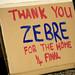 Thank You Zebre