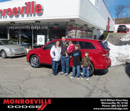 Happy Anniversary to Scott Eckman on your 2013 #Dodge #Journey from Brandon Weekley  and everyone at Monroeville Dodge! #Anniversary by Monroeville Dodge
