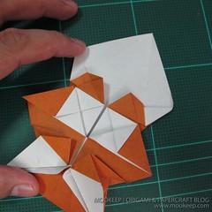 วิธีพับกระดาษเป็นรูปหมี (Origami Bear) 023