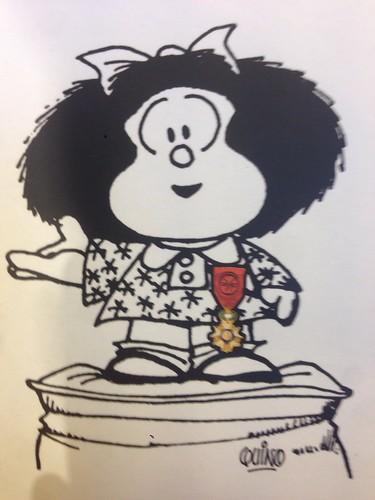 Mafalda reçoit la Légion d'Honneur