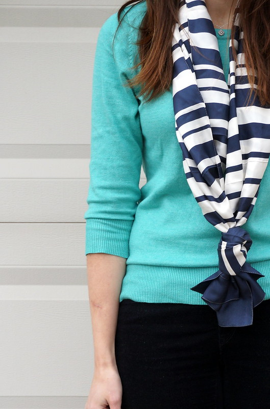 target sweater and scarf stripe