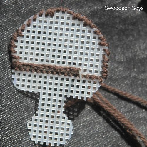 Plastic Canvas Animal Ears DIY - Swoodson Says