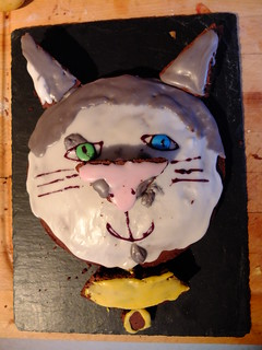 Smudge's birthday cake