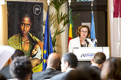 Ambassador Chantal Hebberecht, Head of EU delegation to Ethiopia