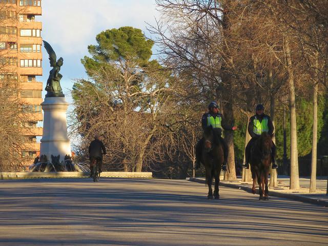 horse police madrid 2017